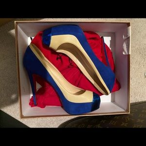 Authentic Christian Louboutin Mago Pumps, sz 41